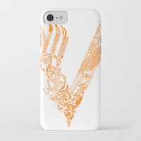 vikings iPhone & iPod Cases featuring Vikings by Fiorella Modolo