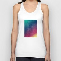 circles Tank Tops featuring Circles by Beehive Dezines
