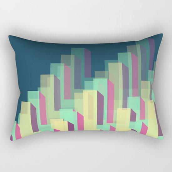 Blocks&Layers Rectangular Pillow