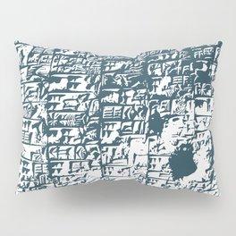 Cuneiform Tablet Pillow Sham