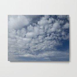 Summer sky Metal Print