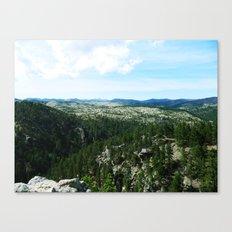 The Landscape Has Hills Canvas Print