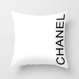 chanell Throw Pillow
