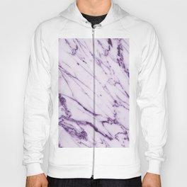 Violet Marble Design Hoody