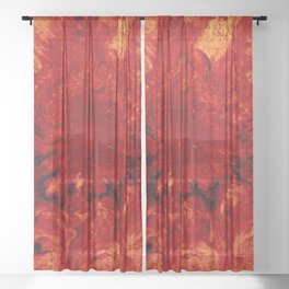 Heart Sheer Curtain