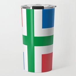 Groningen region Netherlands province Flag Travel Mug