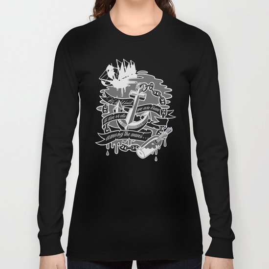 """Among the Waves"" Long Sleeve T-shirt"