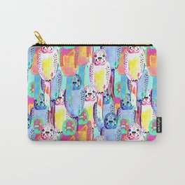 Busy budgies Carry-All Pouch