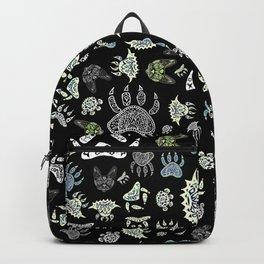 Feline Tracks Backpack