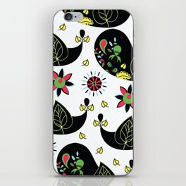 Paisley pattern #4D2 iPhone Skin