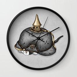 Pickelhaube Wall Clock