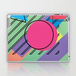 90s Retro Colored Shapes v4 Laptop & iPad Skin