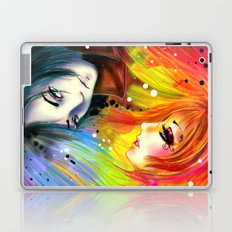 RAINBOW AND NIGHT Laptop & iPad Skin