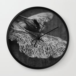 Fluid Nature - Wings Of A Tree Wall Clock