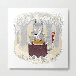 The Big Bad Wolf Metal Print