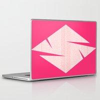 typo Laptop & iPad Skins featuring typo by Adrianna Bykowska