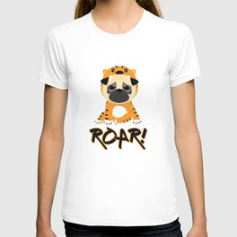 Pug Tiger T-shirt