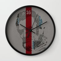 lincoln Wall Clocks featuring Lincoln by TheMaddhattR