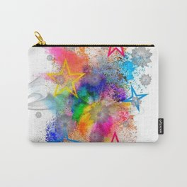 Color blobs by Nico Bielow Carry-All Pouch