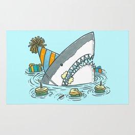 Birthday Shark II Rug