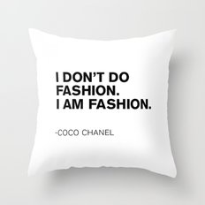 CC Quote Throw Pillow