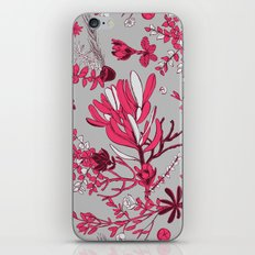 Fuchsia Cradle Flora iPhone & iPod Skin
