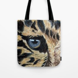 Leopard's eyes Tote Bag