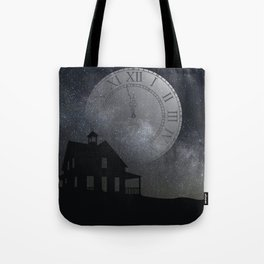 back before midnight Tote Bag