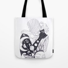 we were night and day Tote Bag