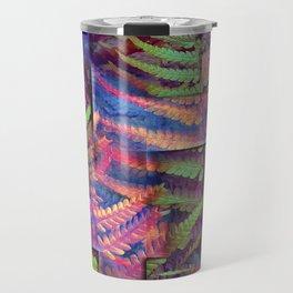 Farn abstrakt Travel Mug