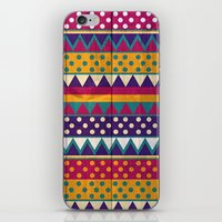 mexican iPhone & iPod Skins featuring Mexican Pattern by Eleaxart