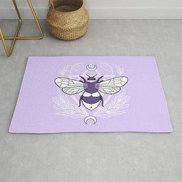 Bee Queen // Pastel Rug
