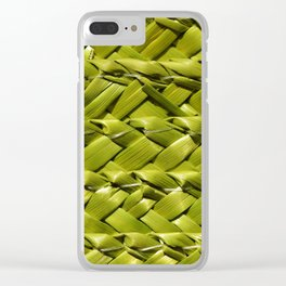 weaved pyparus Clear iPhone Case