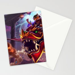 Dragonwing Corki League of Legends Stationery Cards
