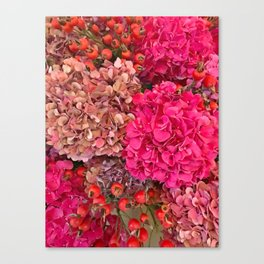 A Fall Floral in Zurich Canvas Print