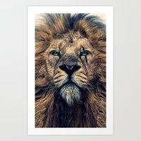 King of Judah Art Print