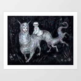 SEER . The Ride  Art Print