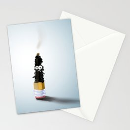 Phosphorus and pencil Stationery Cards