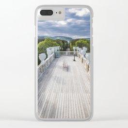 The bench Schönbrunn Palace Vienna Austria Clear iPhone Case