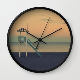 Sunset Beach Wall Clock