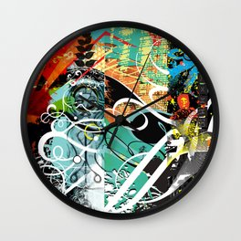 Exquisite Corpse: Round 4 Wall Clock