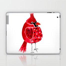 Polka Dot Cardinal Laptop & iPad Skin