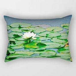 Lily Pads Rectangular Pillow