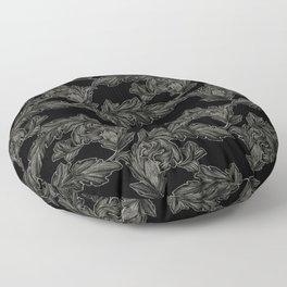 Acanthus Arabesque Floor Pillow
