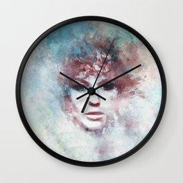 Girl face painting ART Wall Clock