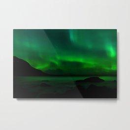 Northern Lights (Aurora Borealis) 14. Metal Print