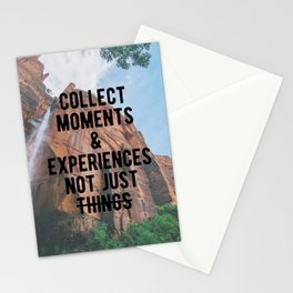 Motivational - Collect Moments Stationery Cards