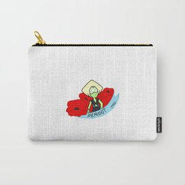 Peridot Poppies Carry-All Pouch