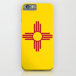 Flag of New Mexico iPhone Case