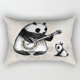 Banjo Panda Rectangular Pillow